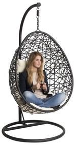 Hangstoel Swing - zwart