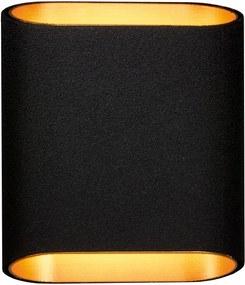 Modular Trapz wandlamp zwart