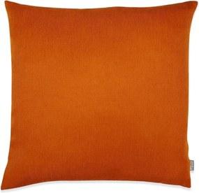Kussen oranje vierkant, Heidi Zonder binnenkussen