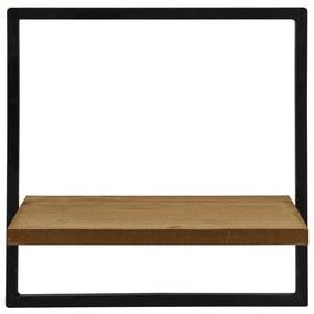 Wandrek met plankje - ø25x15x25 cm