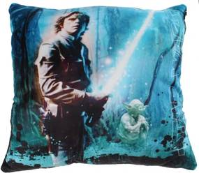 Star Wars Sky Walker Kussen blauw 34 x 34 x 11 cm