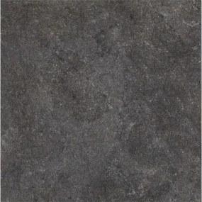 Douglas & Jones One By Vloertegel 100x100cm 6mm vorstbestendig gerectificeerd Zwart Chiffon Mat 1518279