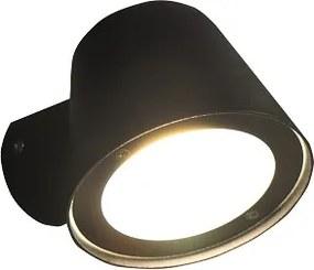Led 008 wandlamp led incl 3000k + 4000k lamp - mat wit
