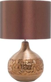 Tafellamp porselein bruin 43 cm YAKIMA
