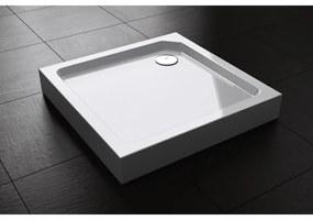 Douchebak Opbouw Best Design Project Vierkant 90x90x14 cm Hoogglans Wit