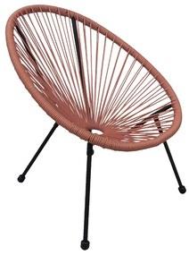 Kinderstoel Hawaii - terra - 60x60x61 cm