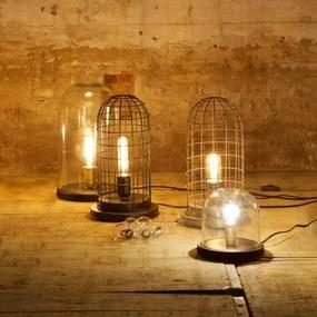 Nostaluce Hive kooi zink tafellamp
