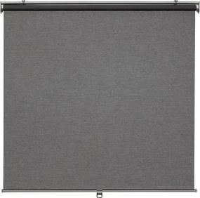 SKOGSKLÖVER Rolgordijn 120x195 cm grijs