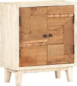 Bijzetkast 60x30x70 cm massief gerecycled hout