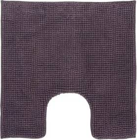 Toiletmat Differnz Antislip Candore Micro Fibre Aubergine 60x60cm