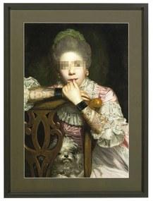 Kare Design Incognito Sitting Countess Klassiek Schilderij