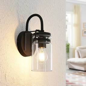 Vintus wandlamp, zwart - lampen-24