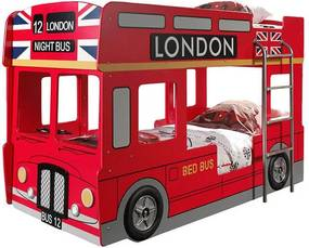 Vipack London Bus - Stapelbed