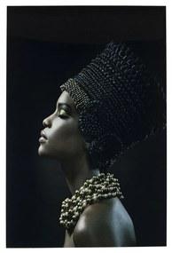 Kare Design Royal Headdress Profile Glas Schilderij 100 X 150 Cm