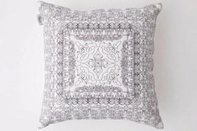 Flamant Pattern White Grey Sierkussen