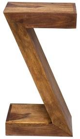 Kare Design Authentico Bijzettafel In Lettervorm - 30 X 20cm.