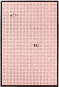 Letterbord A2 Roze