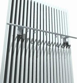 Iguana kapstok radiator chroom breedte 660mm
