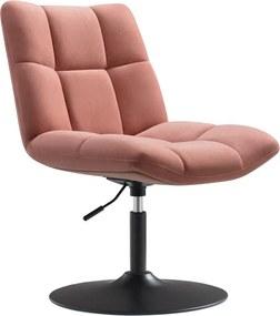 Design fauteuil Lille - Velvet oudroze