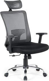 Burostoel zwart - stoel - bureaustoel - NOBLE