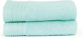 The One Towelling 2-PACK: Handdoek Basic - 50 x 100 cm - Mint