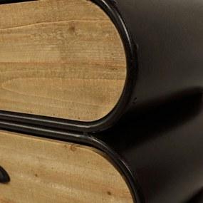Ladekast Trunk Industrieel Dressoir - 140x35x77cm.