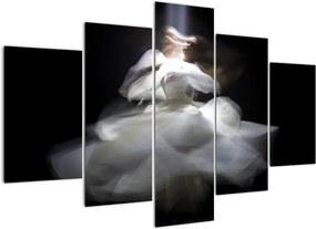 Schilderij - Lotusbloesem (150x105 cm), 40 andere afmetingen