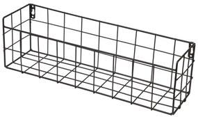 Duraline Hangmand Metaal 40x12x10cm Zwart 1204466