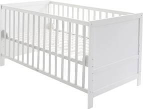Babywieg - juniorbed combi wit
