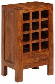 Medina Wijnrek 50x37x90 cm massief acaciahout bruin