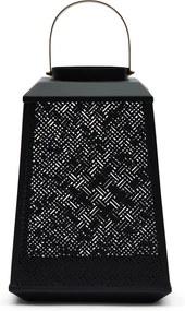 Rivièra Maison - Yacht Club Square Lantern - Kleur: zwart