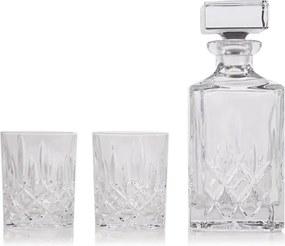 Nachtmann Noblesse karaf met whiskyglazen 3-delig