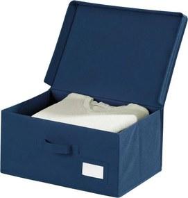 Opbergbox Air 44 x 19 cm polypropyleen donkerblauw