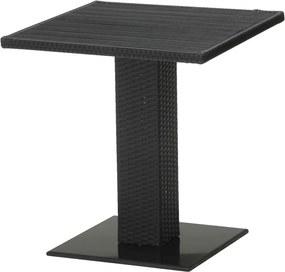 Bistrotafel THY B60xL60 zwart