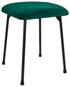 Krukje velvet kussen - groen - 35x35x45 cm