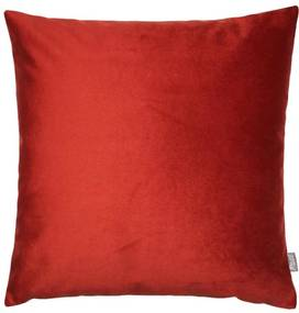 Kussen rood vierkant Vos Met binnenkussen 50 x 50 cm
