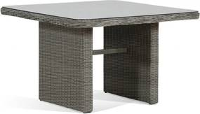 Garden Collections Wilson lounge/dining tafel 110 x 110 cm