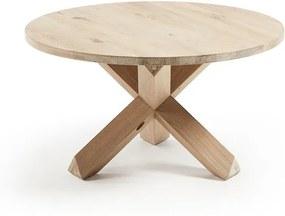 Ronde middentafel Lotus hout