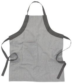Keukenschort - Katoen - Grijs (grijs)