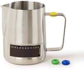 Latte Pro Melkkan van roestvrij staal met thermometer 480 ml