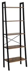 Loods 1 Boekenrek (5 planken) - 56x34.5x172 cm