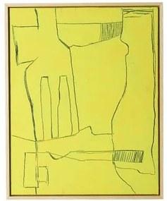 Framed Brutalism Kunstlijst 43 x 53 cm