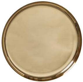 Kaarsonderzetter - Ø 33 Cm - Goud (goud)