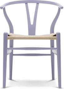 Carl Hansen & Son CH24 Wishbone stoel Colours Natural Light Purple
