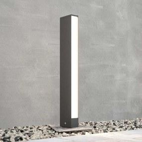 LED tuinpadverlichting Lirka, grijs, 1-lamp