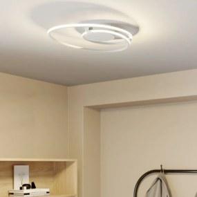 Xenias LED plafondlamp, wit, 49 x 30 cm - lampen-24