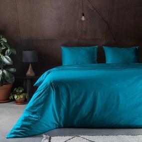 Fresh & Co Crispy Uni - Blauw 1-persoons (140 x 200/220 cm + 1 kussensloop) Dekbedovertrek