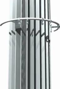 Iguana kapstok radiator chroom breedte 427mm