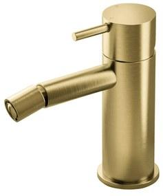 Bidetmengkraan Hotbath Cobber Geborsteld Messing PVD (excl. Waste)