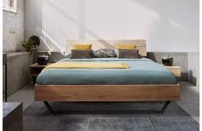 Goossens Bedframe Slade, Bedframe 180 x 200 cm hoofdbord organisch